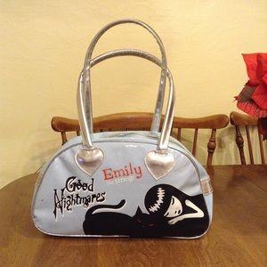 Handbags - Emily the strange rare vinyl handbag REDUCED!
